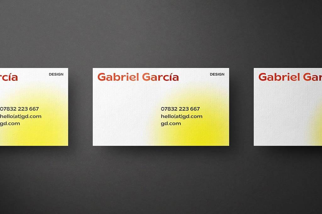 Highlights Business Card Mockup