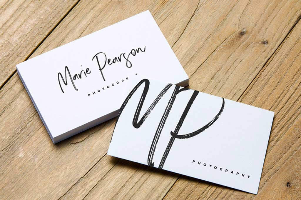 2 Free Business Card Mockups