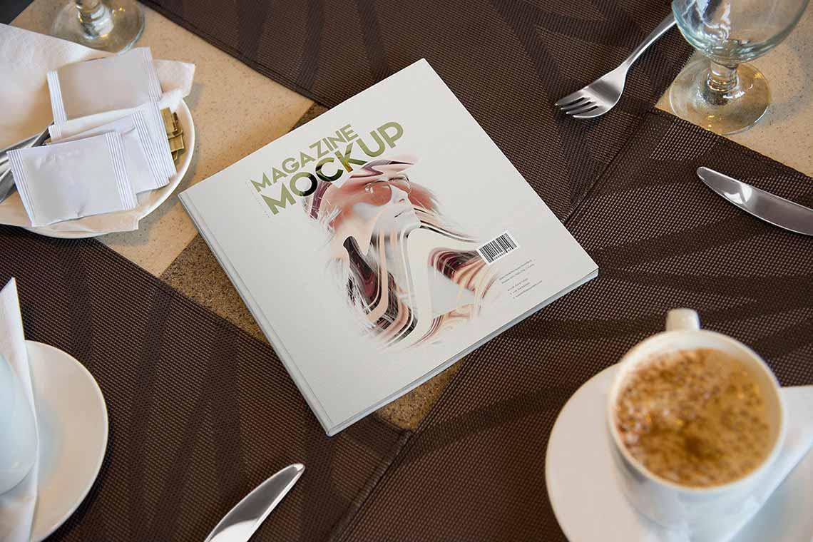108 Magazine Mockups Bundle