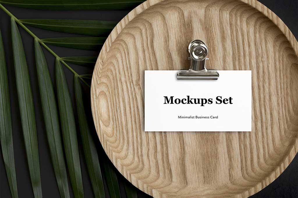 Scandi Business Card Mockups