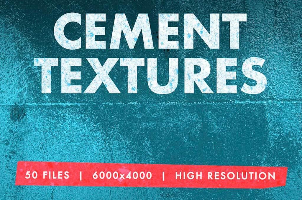 50 Mega Cement Texture Pack