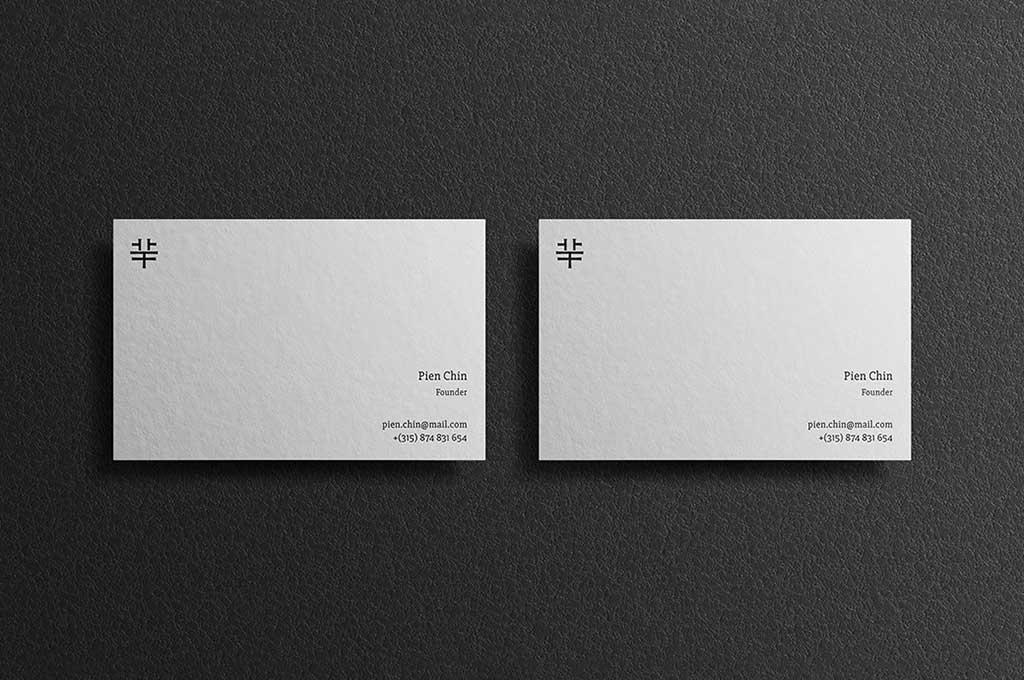 Lesly Business Card Mockups