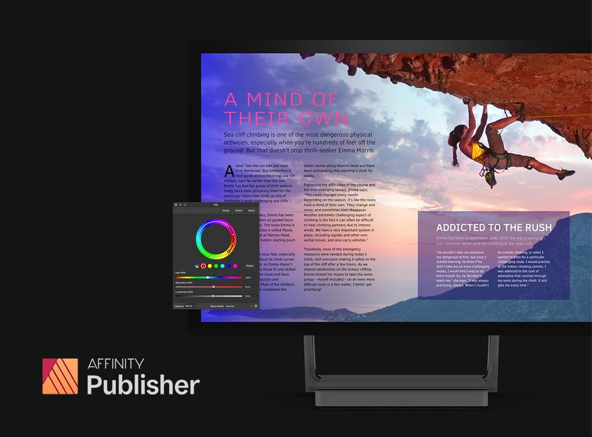 Affinity Publisher as InDesign alternative