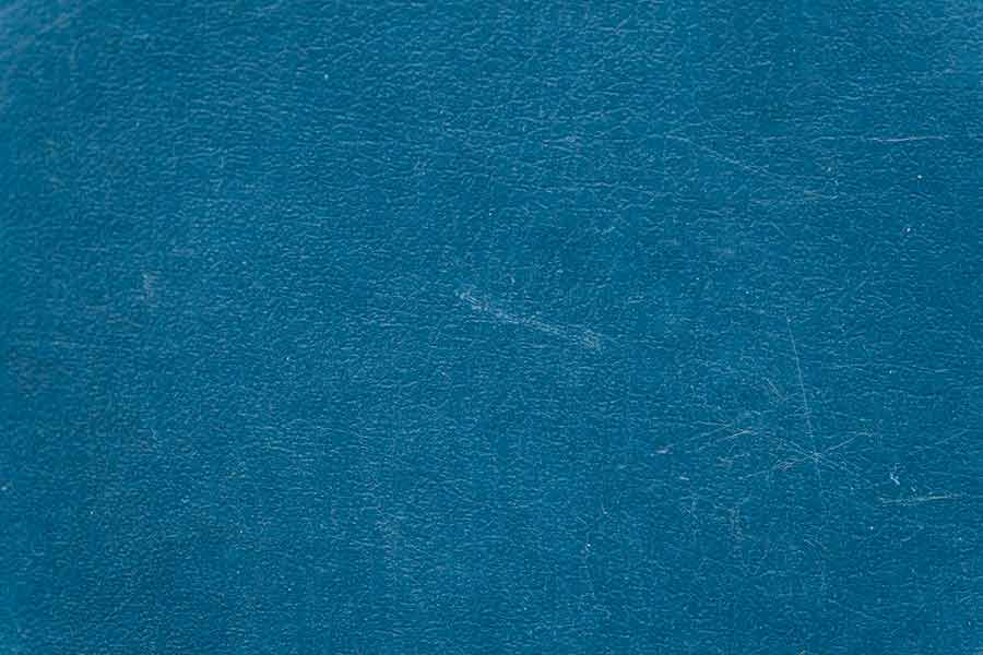 Aged Blue Leather Textured Background