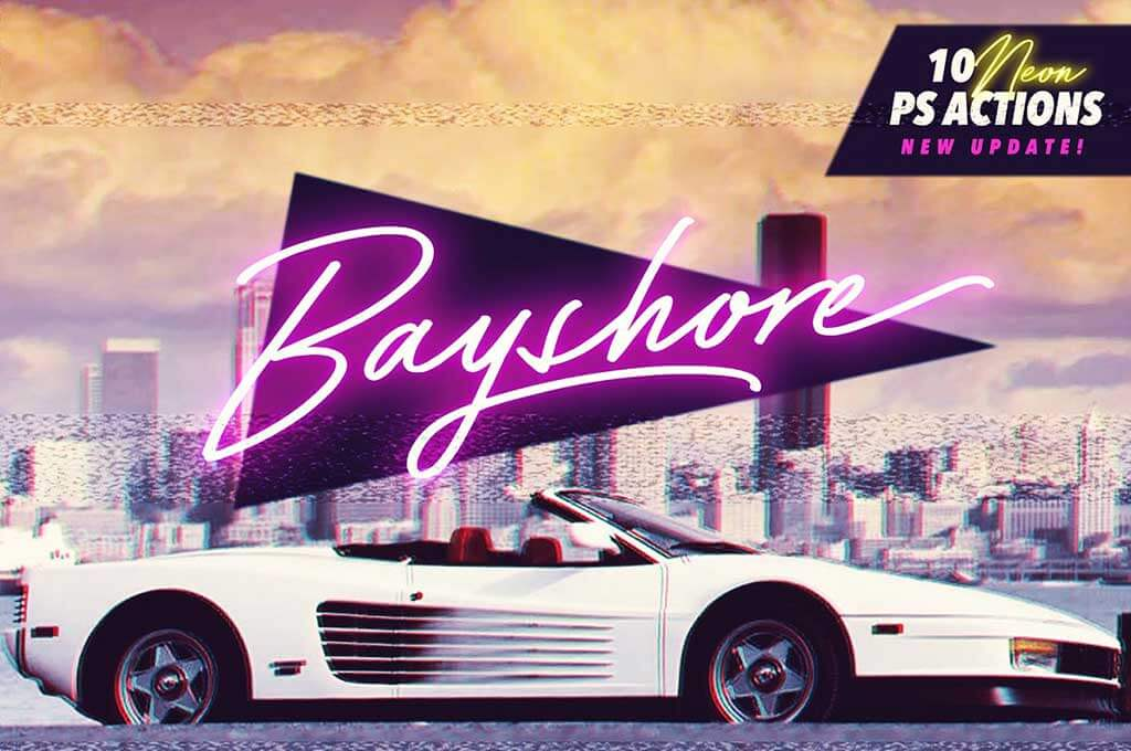 Bayshore + Neon Glow Styles