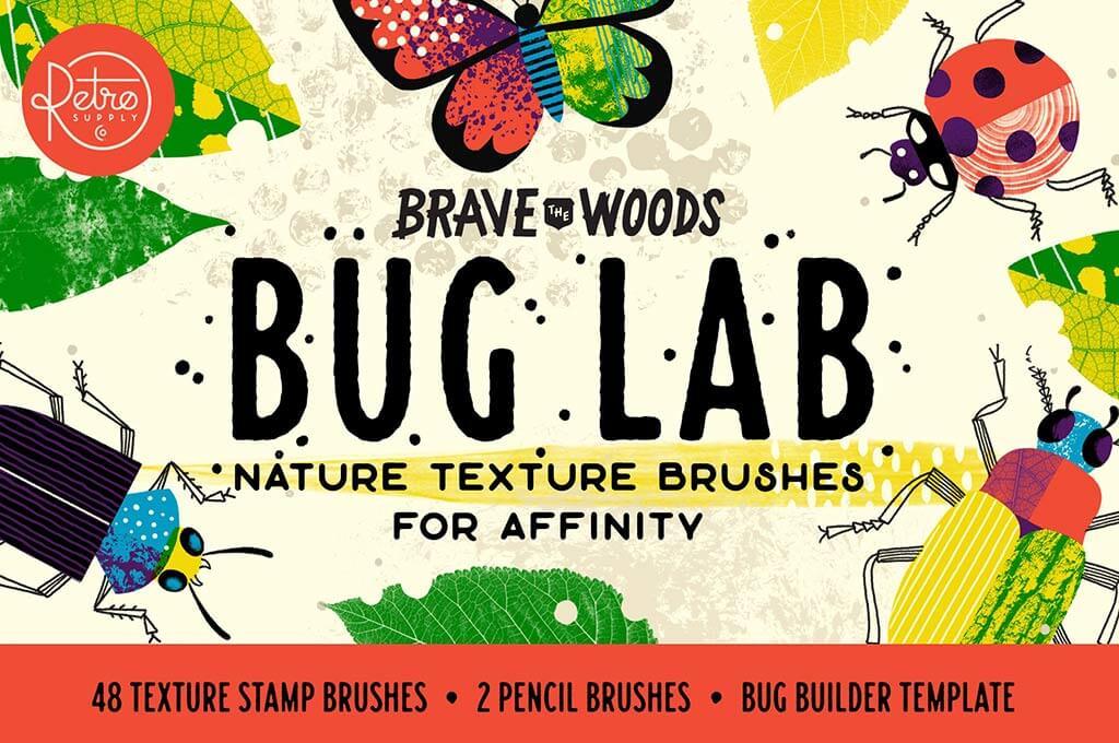 Bug Lab | Affinity Texture Brushes