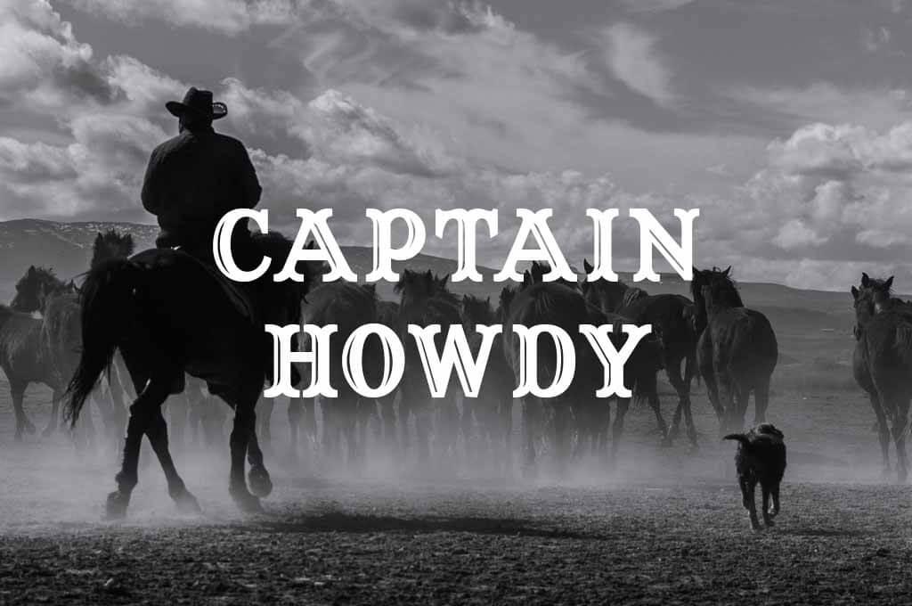 Captain Howdy Font