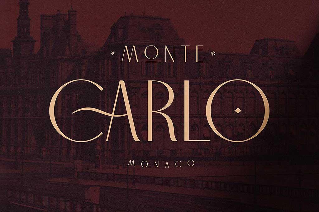 Carlo Monaco Sans Serif