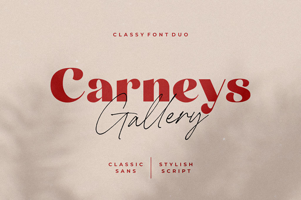 Carneys Gallery Wedding Script