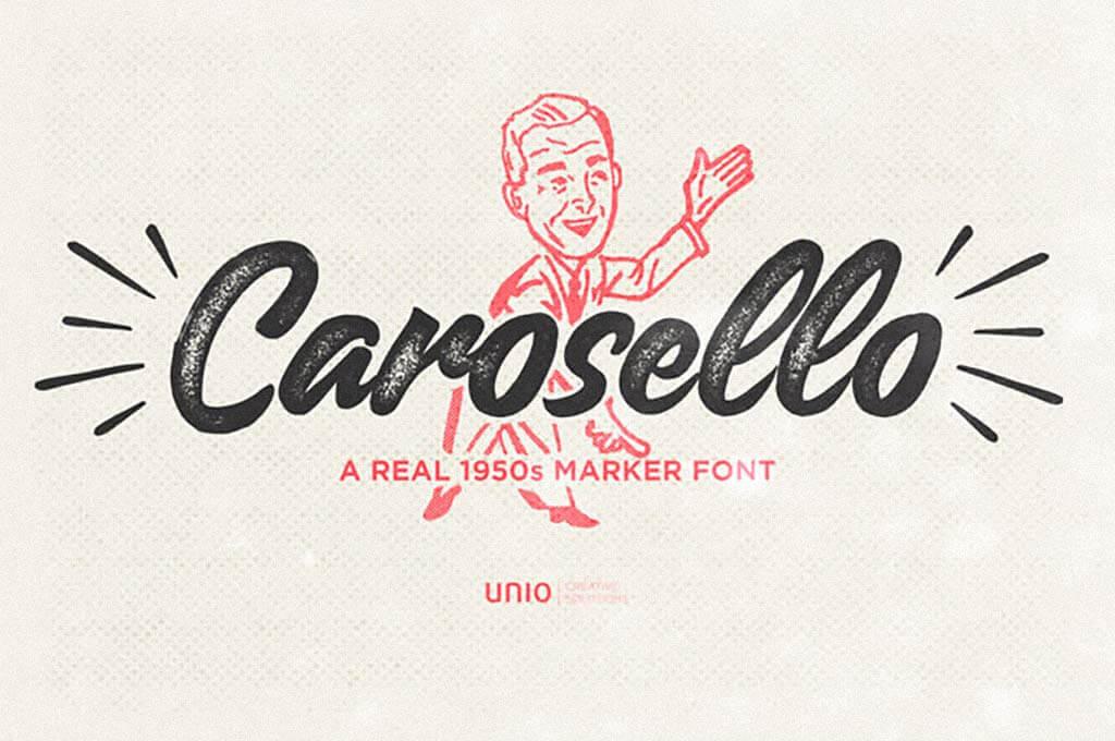 Carosello Vintage Font