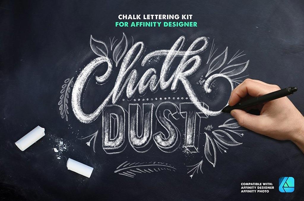 ChalkDust Affinity Designer Brushes