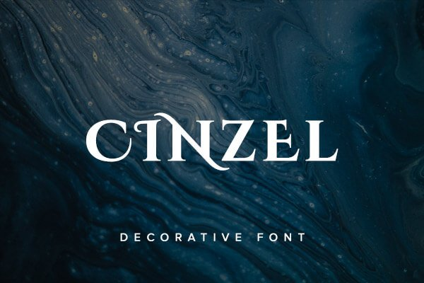 Cinzel Decorative Font