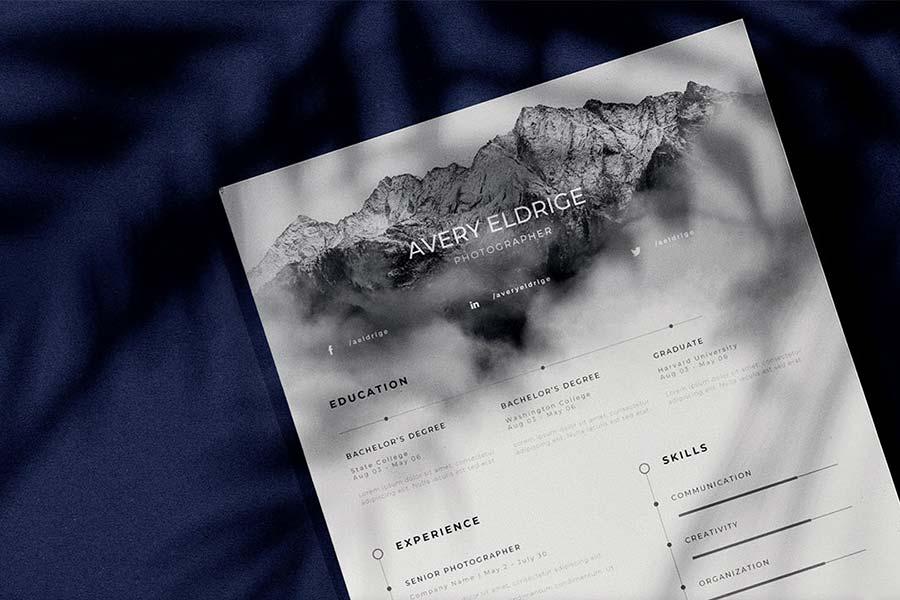 Creative Resume — Free Template