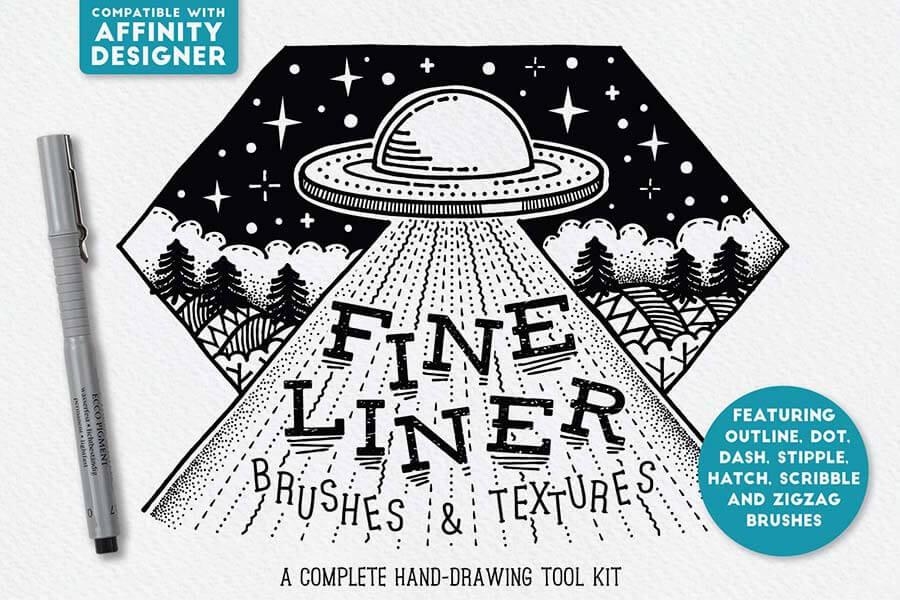 Fine Liner — Affinity Designer Brushes