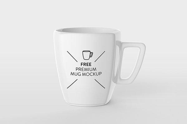 Free Mug Mockup Design