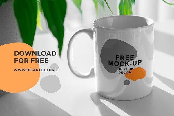 Free Mug Mockup Scenes