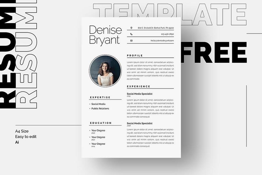 Free Syra Resume Template