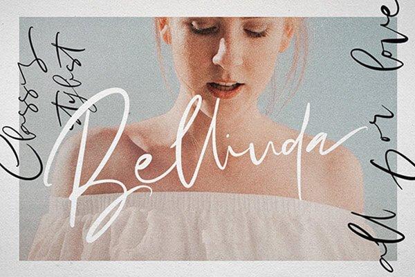 Hello Bellinda — Signature Wedding Script Font