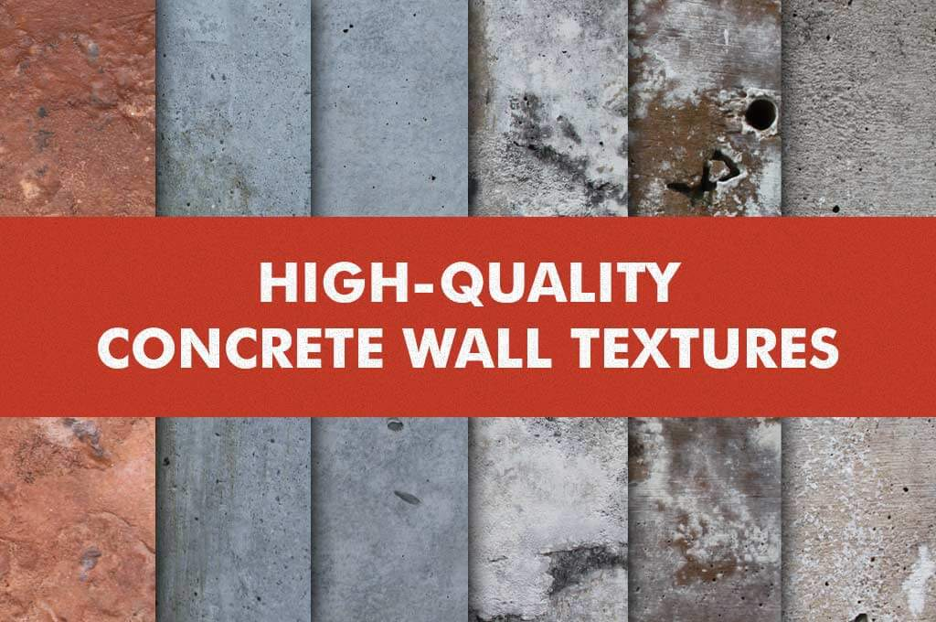 High-Quality Concrete Wall Textures