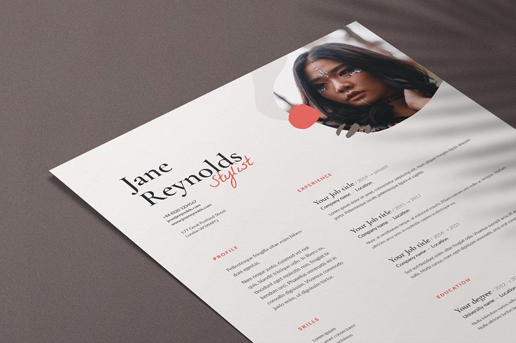 Jane   CV / Resume Template