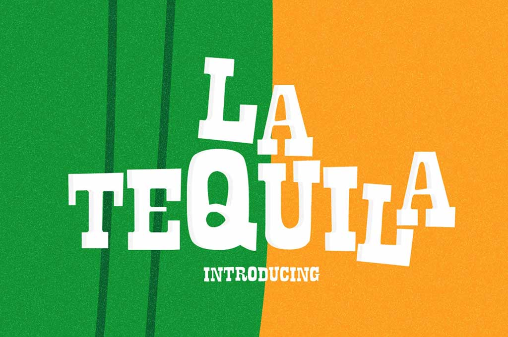 La Tequila Typeface