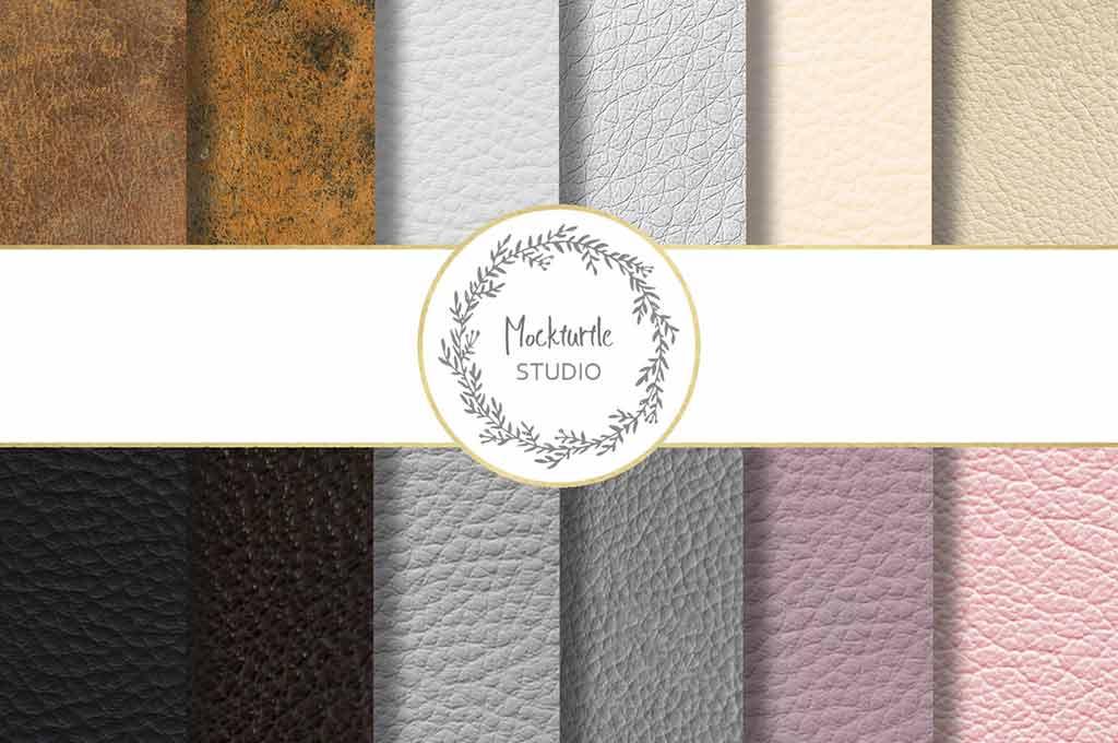 Leather Digital Paper