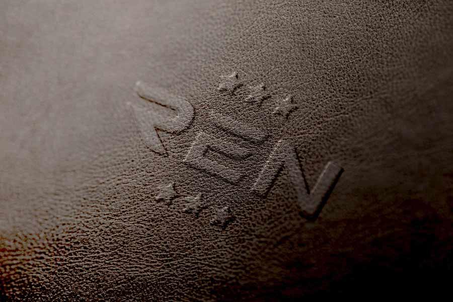 Leather Emboss Logo Mockup