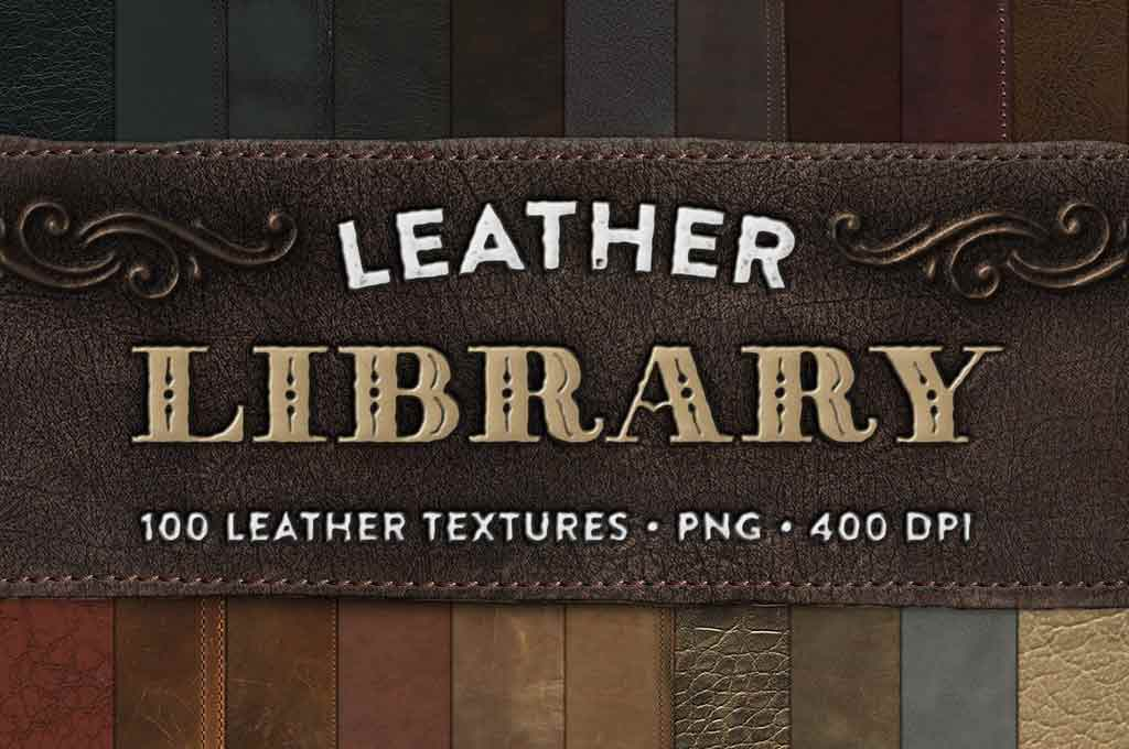 Leather Library - 100 Textures