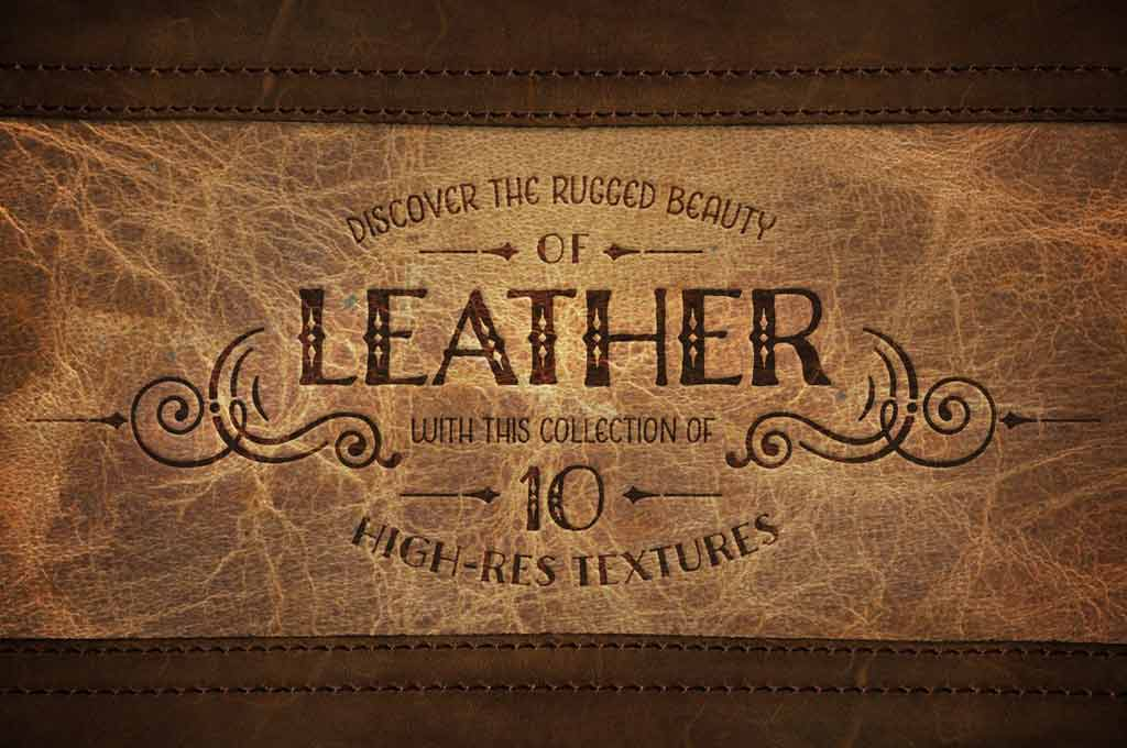 Leather Love - 10 Leather Textures