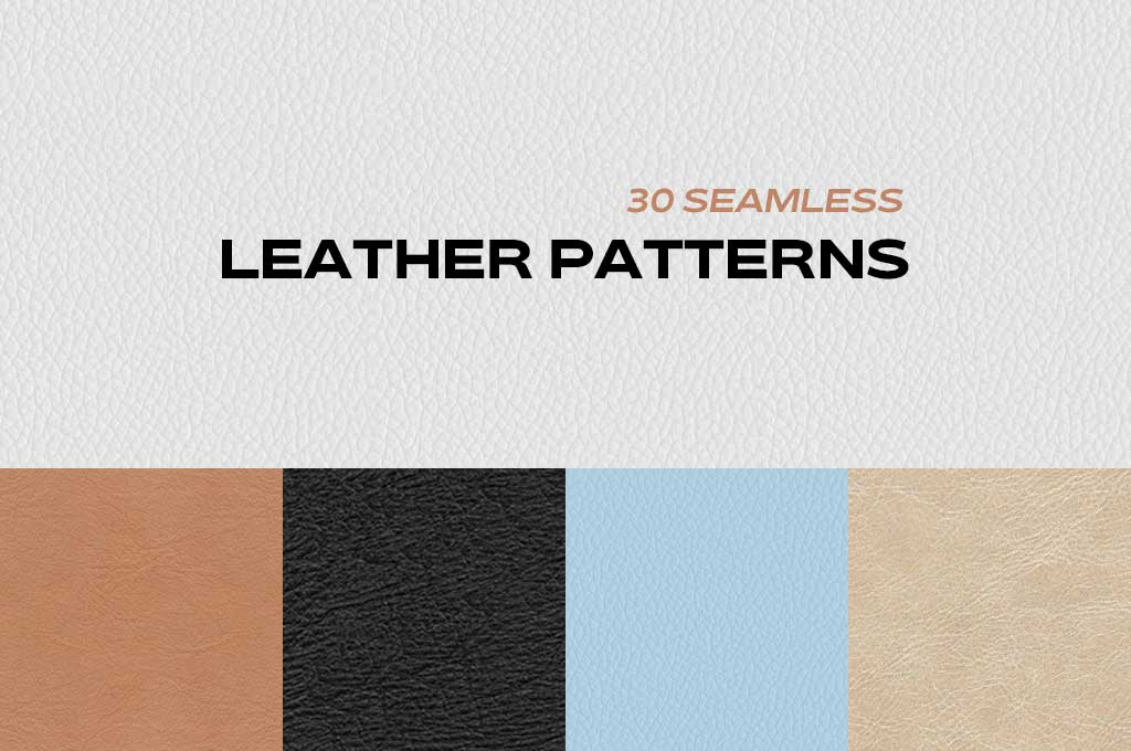 Leather Texture Set 30 Seamless Leather Patterns