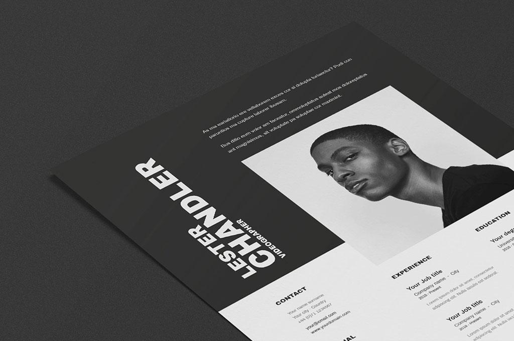 Lester   CV / Resume Template