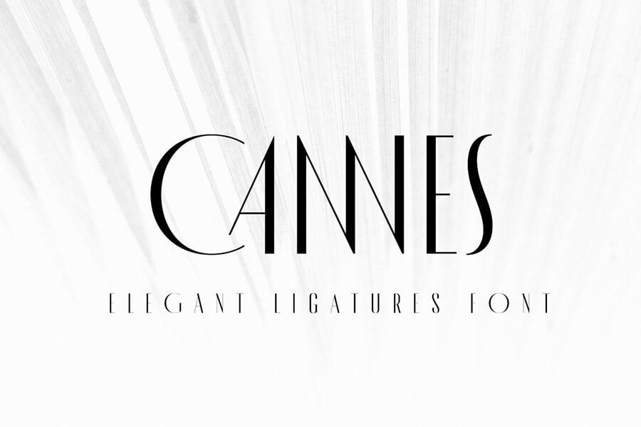 MADE Cannes Vintage Font