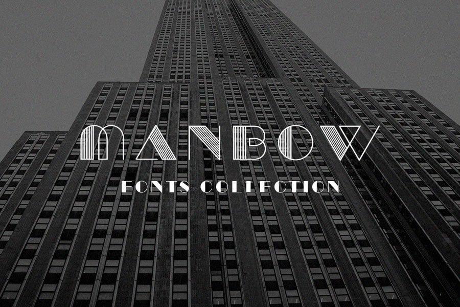 Manbow Retro Font