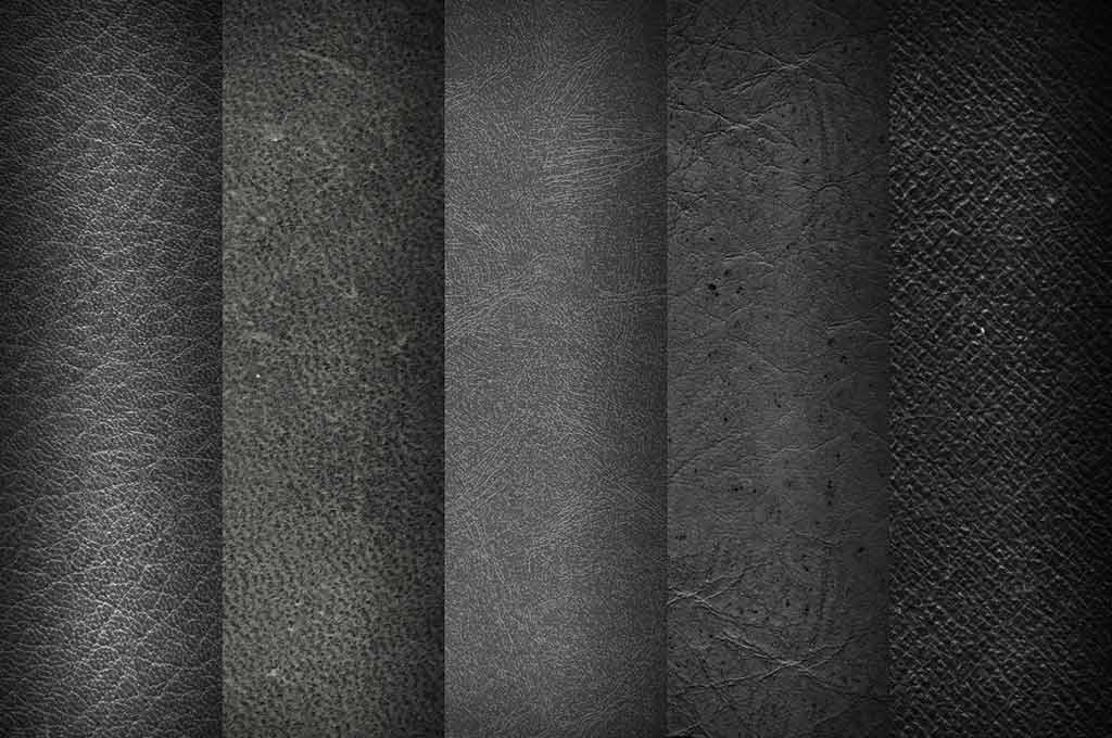 Mixed Vintage Leather Textures