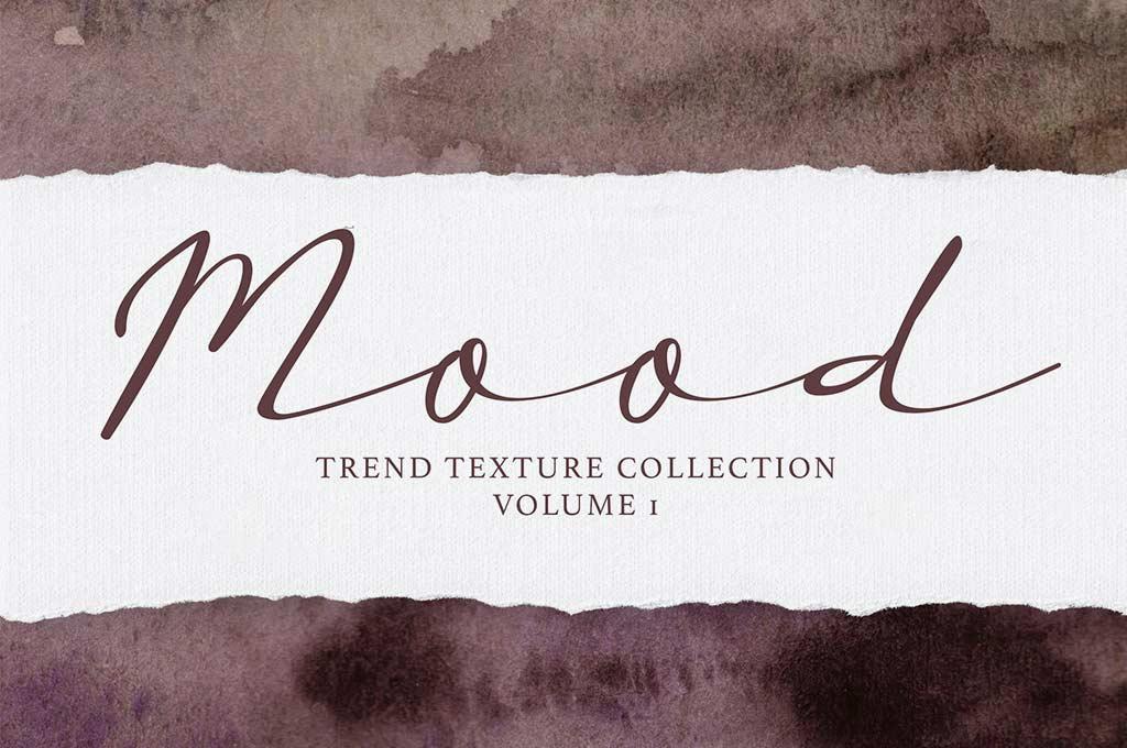 Mood Trendy Watercolor Textures