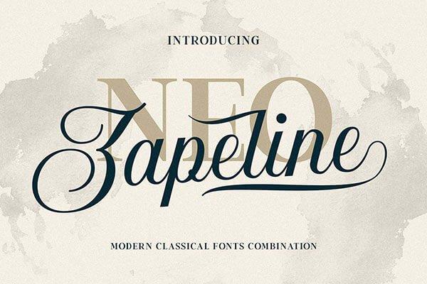 Neo Zapeline Elegant Font Family