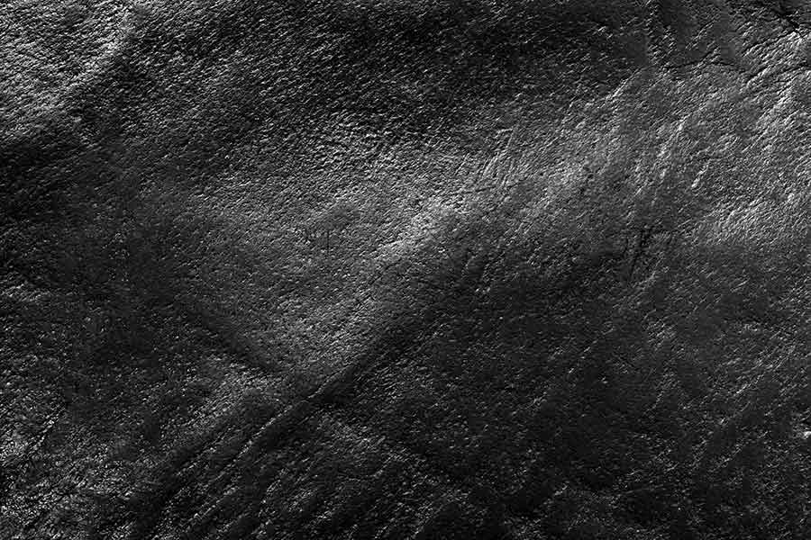 Old Black Leather Background