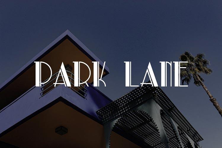 Park Lane NF Font