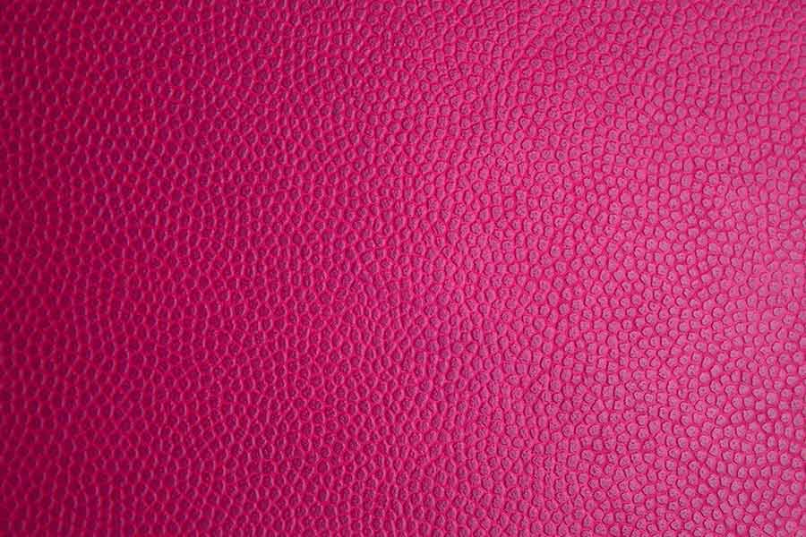 Popping Pink Leather Background