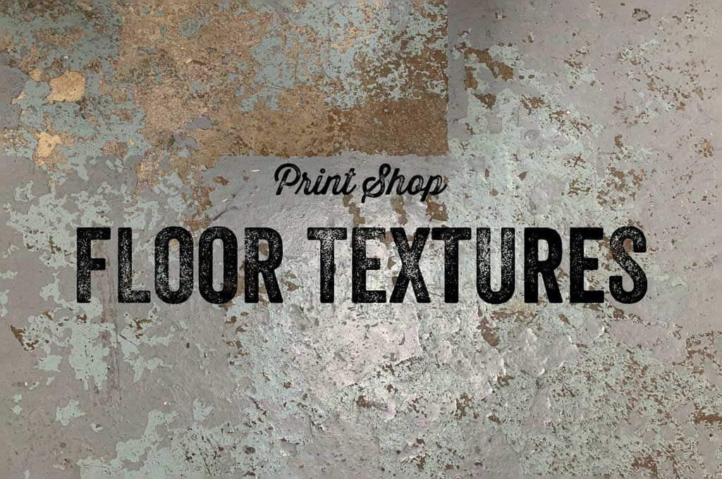 Print Shop Floor Textures - 30 Items