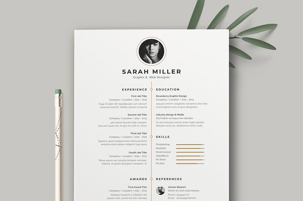 Resume: CV Template