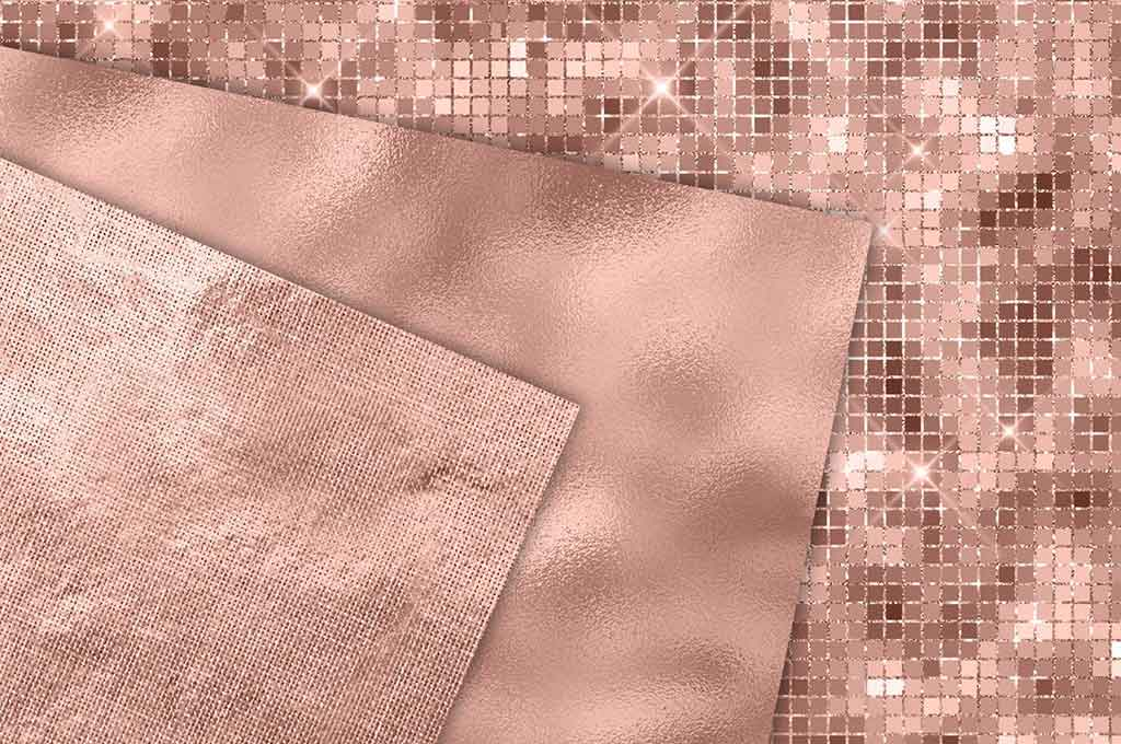 Rose Gold Texture Paper