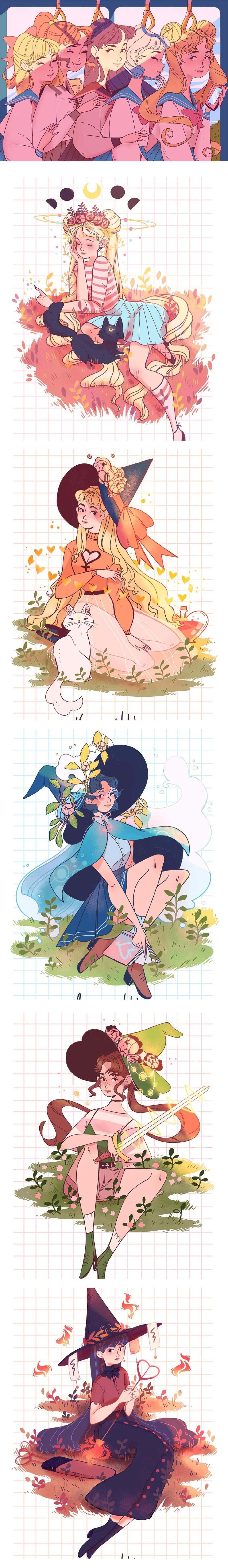 Sailor Moon Fanart by Lana Jay