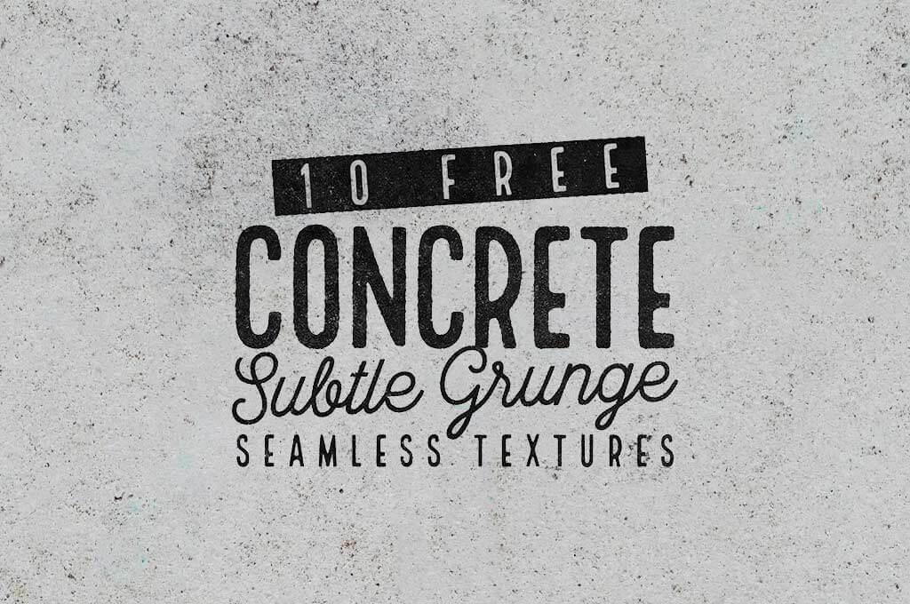 Seamless Subtle Grunge Concrete Textures