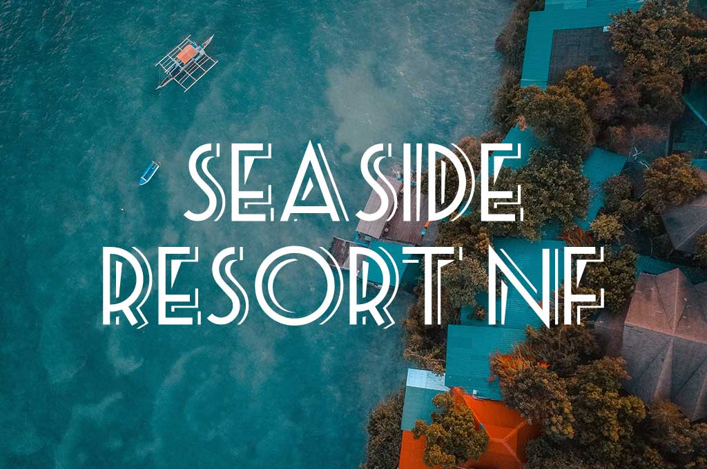 Seaside Resort NF Font