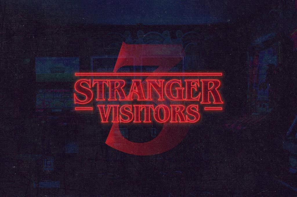 Stranger Things Font Effect
