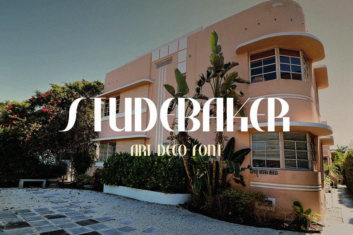 Studebaker Free Font Family