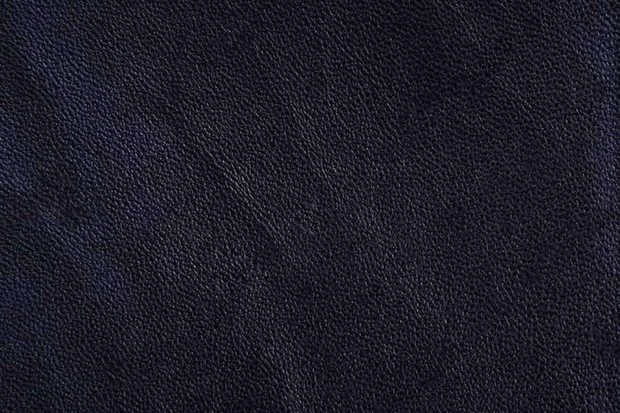 Textured Surface of Black Leather Product
