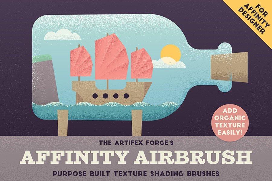 The Affinity Designer Airbrush