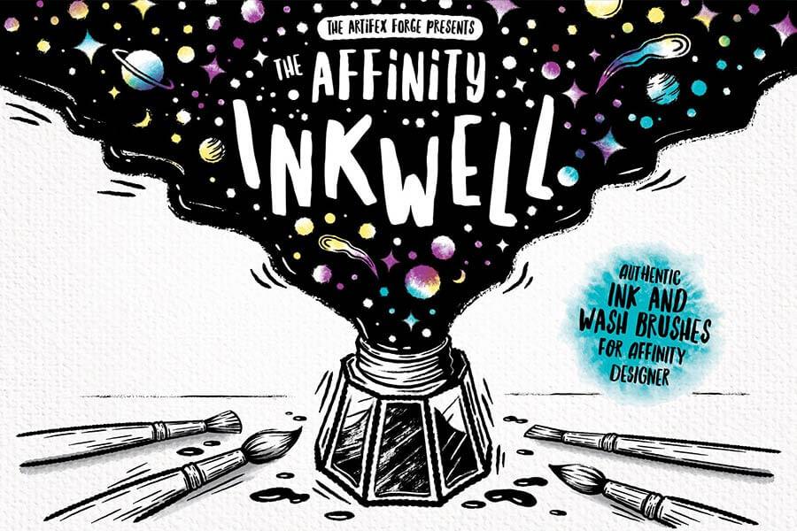 The Ink Well | Affinity Brushes